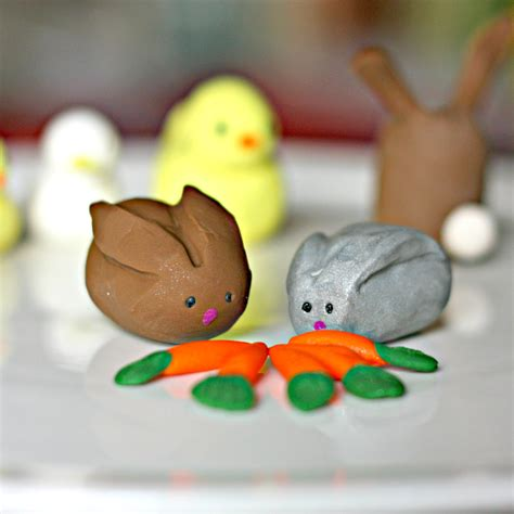 polymer clay easter animals fun family crafts