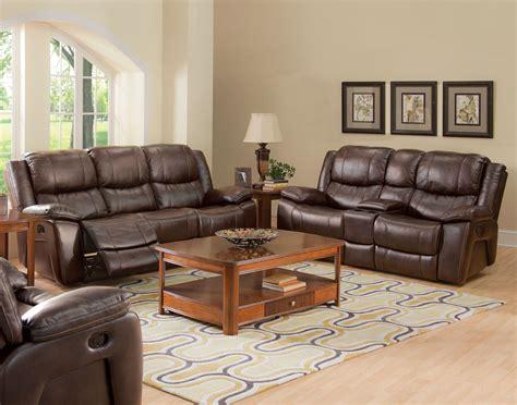 Kenwood Premier Brown Power Reclining Living Room Set From
