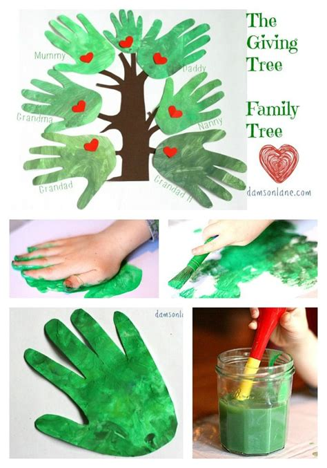 giving tree preschool family tree inspired by the giving tree by shel 946