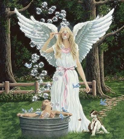 Angels Paradise Angel Guardian Gifs Animated God