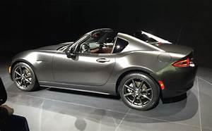 Mazda Mx 5 Rf Occasion : une version targa pour la miata la mx 5 rf l 39 automobile magazine ~ Medecine-chirurgie-esthetiques.com Avis de Voitures