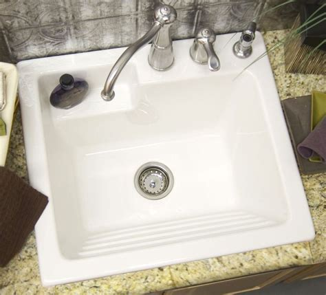 laundry room sink with built in washboard 25 best ideas about laundry sinks on laundry