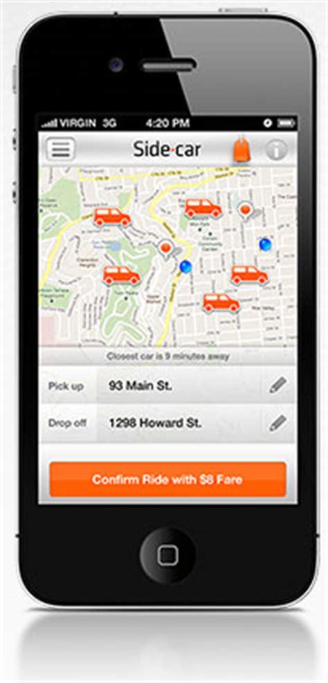 sidecar  community ridesharing app