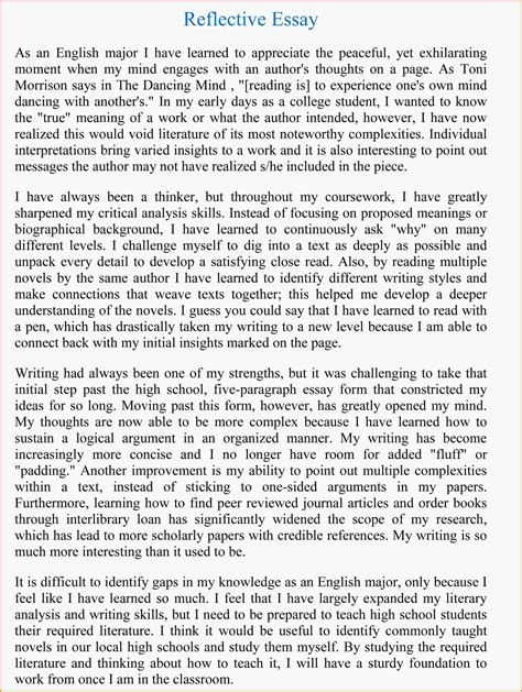 example essay writing introduce yourself essay example