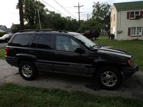 dark gray jeep grand cherokee buy used 1999 jeep grand cherokee laredo v8 dark gray 4x4