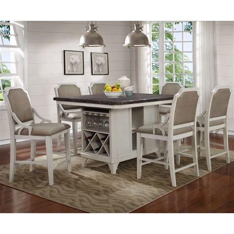 avalon mystic cay kitchen island   gathering chairs