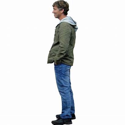 Standing Looking Person Transparent Photoshop Pngio Guy