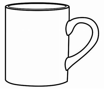 Coloring Mug Coffee Pages Cup Printable Cups