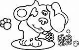 Clues Blues Coloring Header Desktop Drawing Wecoloringpage Nick Jr Getdrawings sketch template