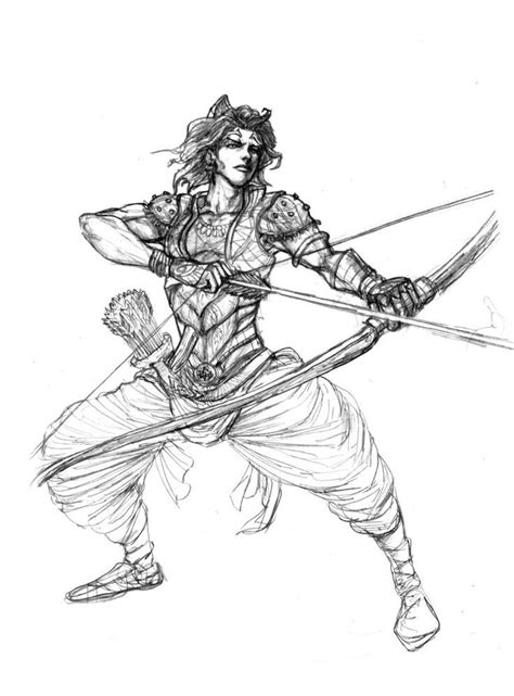 Karna of Mahabharat picturea painted by any artists
