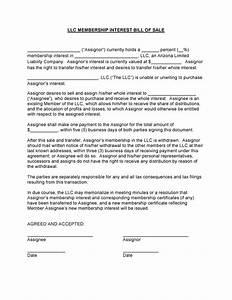 Free Arizona LLC Membership Interest Bill of Sale Form PDF DOCX