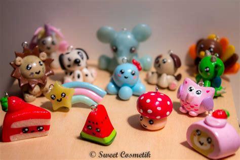 petits personnages kawaii en fimo sweetcosmetik