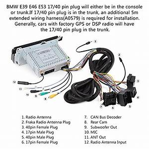 Good Eonon A0579 Extended Installation Wiring Harness For