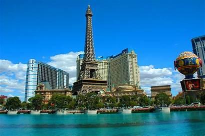 Vegas Torre Eiffel Travel Strip Far Alive
