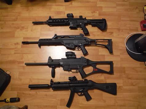 hk   rifle  pistol