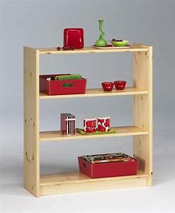Bücherregal Holz Massiv : massivholz regal b cherregal b roregal 84x100 holz kiefer massiv lackiert ~ Markanthonyermac.com Haus und Dekorationen