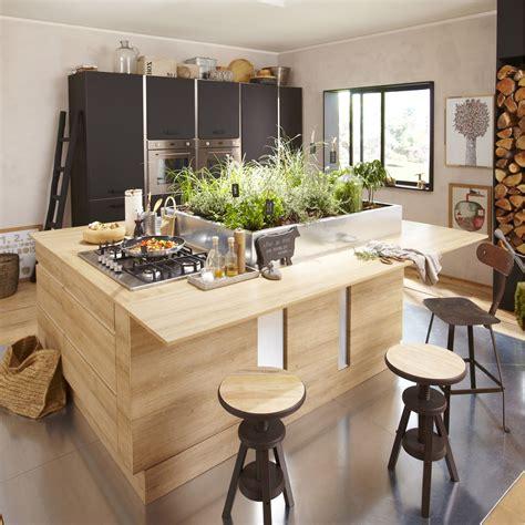 cuisine delinia meuble de cuisine décor chêne blanchi delinia graphic