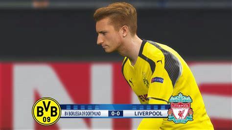 Bdortmund Vs Liverpool  Pes 2017  Penalty Shootout Hd