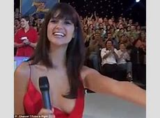 TV presenter suffers wardrobe malfunction live on air