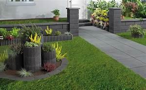 Garten Bepflanzen Ideen : garten gestalten mit pflanzsteinen gartens max ~ Lizthompson.info Haus und Dekorationen