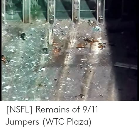 Nsfl Remains Of 911 Jumpers Wtc Plaza 911 Meme On Sizzle