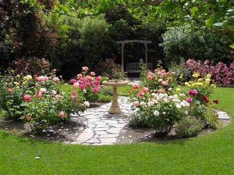 Simple Design Ideas Rose Garden Plans