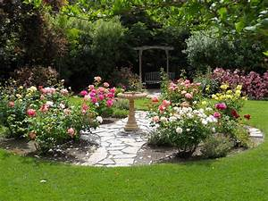 simple design ideas rose garden plans flowers With 4 landscape design ideas for your beautiful garden