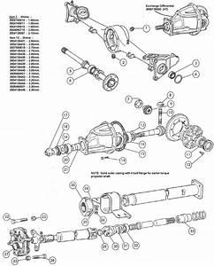 Fiat 124 Rear Axle  U0026 Prop