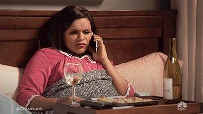 Mindy Kaling Nbc Comfy Giphy Gifs Wine