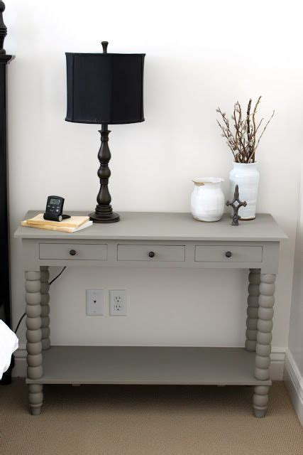 table linen paint color painted this side table with sloan chalk paint in linen one of my favorite