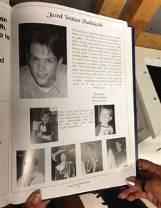 Jared's yearbook page :) | ohmygod | Pinterest