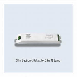 Slim Electronic Ballast For 28w T5 Lamp