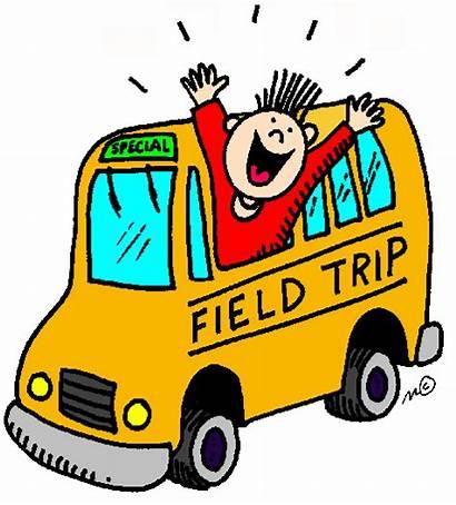 Trip Field Clipart Trips Class Kindergarten Going