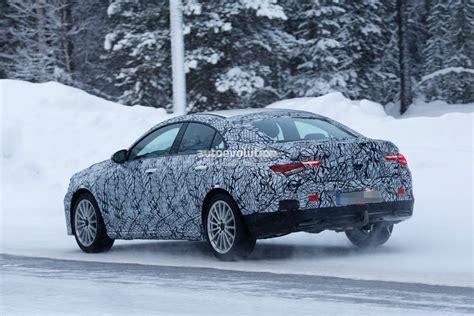Spyshots 2020 Mercedesbenz Cla Shows Baby Cls Look