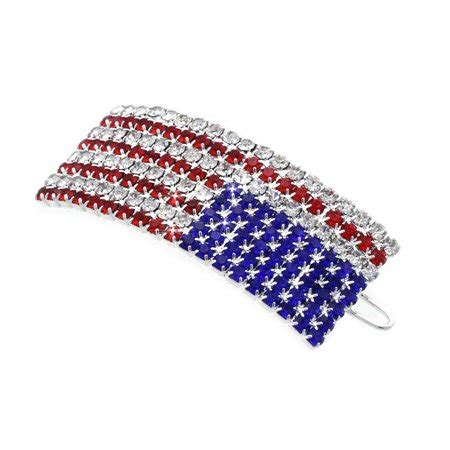cocojewelry   july  american flag patriotic hairpin