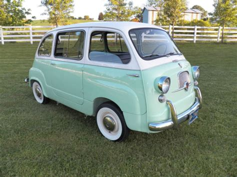 fiat multipla for sale 1958 fiat 500 and 1960 fiat multipla classic fiat other