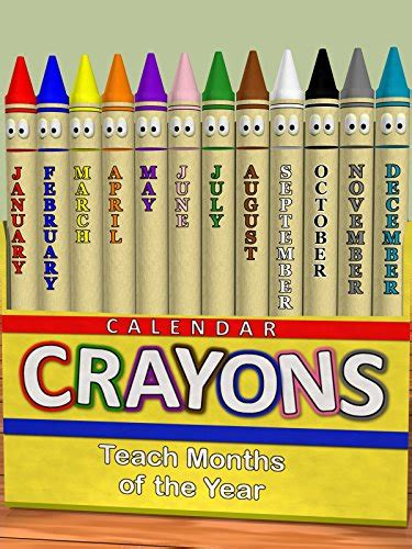 calendar crayons teach months of the year ov 862 | 51aR1quauQL. SX940