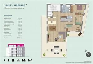 Anzahl Zimmer Wohnung Berechnen : penthouse wohnung archive bechinger projektbau ~ Themetempest.com Abrechnung