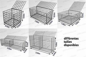 Kit A Gabion : gabion cage m tallique gabion mur et cage ~ Premium-room.com Idées de Décoration