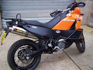Ktm 990 Adventure Minus The Screen For Transportation  In