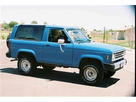 car owners manuals for sale 1984 ford bronco engine control 1984 ford bronco ii for sale classiccars com cc 124462