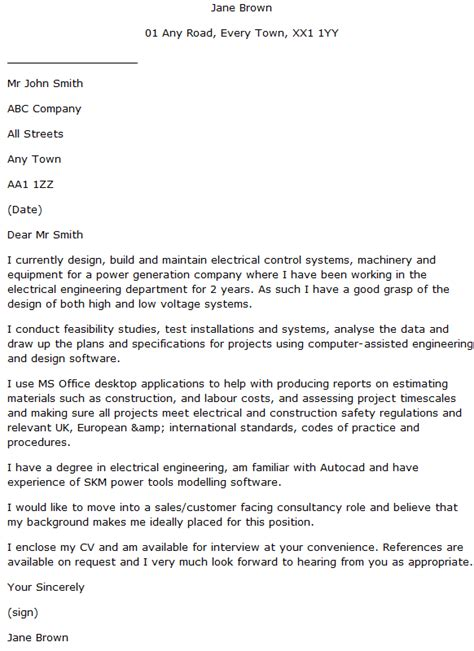 Project Engineer Cover Letter Sle by Electrical Design Engineer Cover Letter Exle Learnist Org
