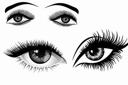 Eyelashes Eyelash Cartoon Clipart Eyes Eye Transparent