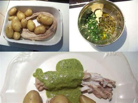 cuisiner la roussette recettes de sauce verte et sauces 4