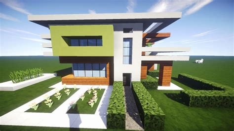 Moderne Kleine Häuser Minecraft by Minecraft Moderne Villa Zum Nachbauen