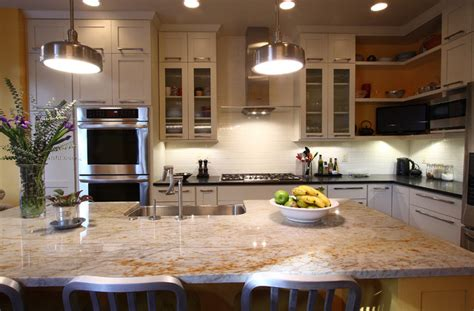 Kitchen Island Pendant Lighting Ideas - contemporary townhouse kitchen transitional kitchen dc metro by nvs remodeling design