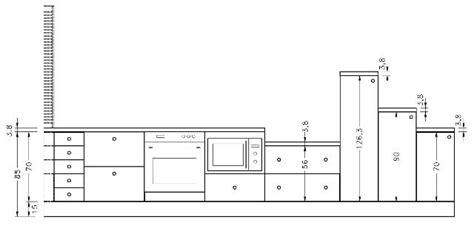 hauteur d un bar de cuisine hauteur d une cuisine affordable hauteur plan de
