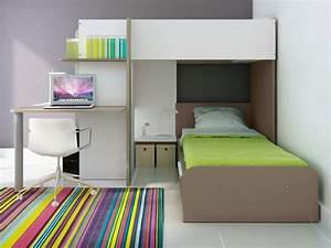 Lit Superposé Enfant : lits superpos s samuel 2x90x190cm 3 coloris option matelas ~ Teatrodelosmanantiales.com Idées de Décoration