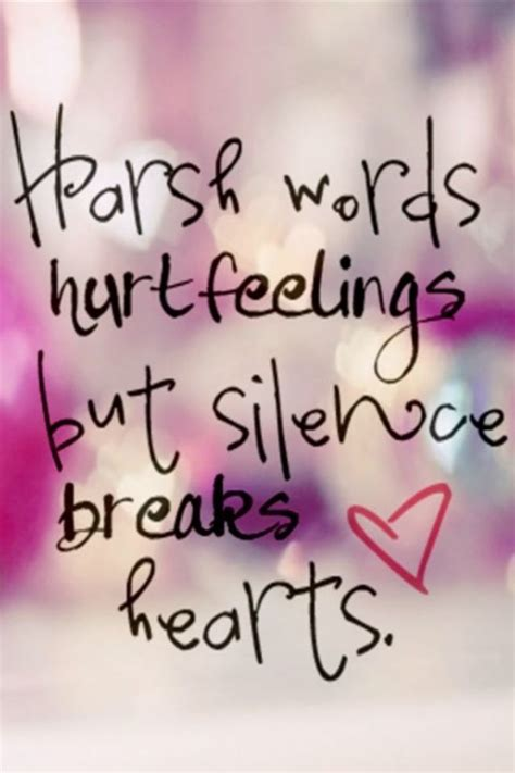 silence hurts quotes quotesta