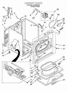 Cabinet Diagram  U0026 Parts List For Model Lgq8000jq2